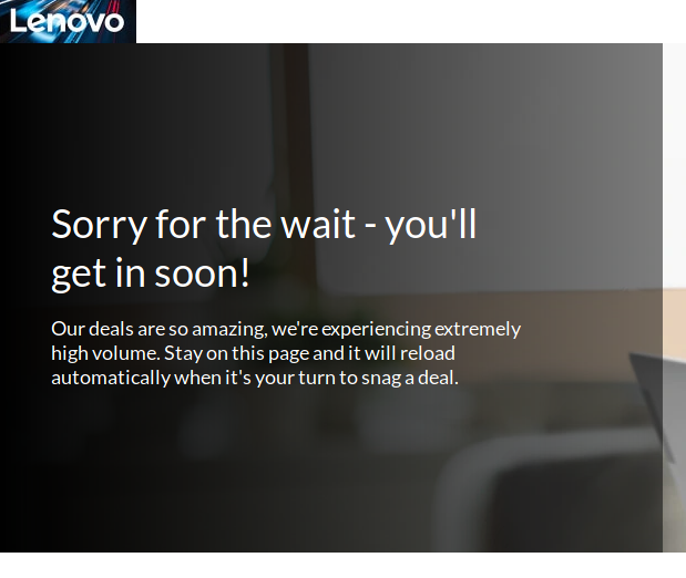 Lenovo is sorry too